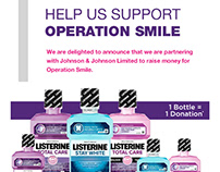 Superdrug Email Marketing - Listerine Project Smile