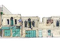 Al-Shuhada St, Hebron.