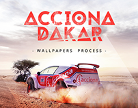 Making of - Wallpapers - Acciona Dakar 2016
