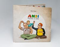 Andi fratiorul cel mare - children's book