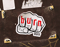 Burn Sticker Campaign