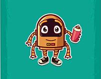 Mascot\character live robot