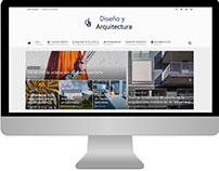 Diseño Blog Diseño y Arquitectura