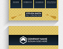 Vector modern creative and clean business card