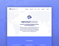 Digital Asset Holdings Branding and Website Design
