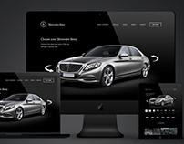 Mercedes-Benz Website Design