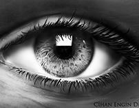 Eye Speed Painting by Cihan engin