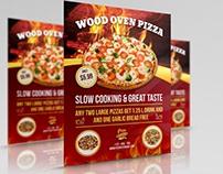 Pizza Restaurant Flyer Vol.2