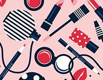Illustration for Belgian clothing brand RIVER WOODS