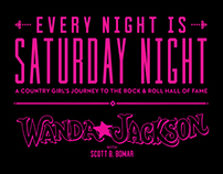 Wanda Jackson EVERY NIGHT IS SATURDAY NIGHT Book Cover