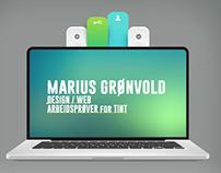 MARIUS GRØNVOLD DESIGN PHOTOSHOP/ILLUSTRATOR