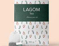 Tea Packaging concept of Lagom