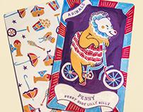 Circus Game Card