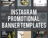 18 Instagram Promotional Banner PSD Templates