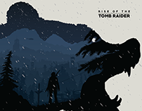 Rise of the Tomb Raider Poster Illustration