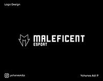 Maleficent Esport Logo and Branding