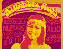 Alfombra Roja's Show flyers