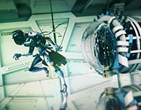 Composición Escena Sci-Fi