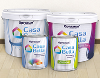 Labels for Casa Bella - Interior and Exterior Paints