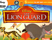 "Layout Proposal for ""The Lion Guard"" Magazine"