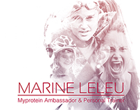 Affiches - Marine Leleu - Athlete