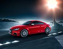 Audi TT Coupé and TTS Coupé Campaign Print