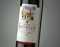 Wine Patio Andaluz  3d visualization  for Grand buro