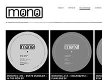 MONO RECORDINGS