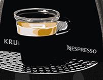 Dessin vectoriel - Nespresso