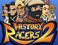 History Racers 2 - Backgrounds