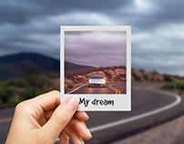 Polaroid Photo Mock-up