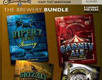 Vintage Brewery Poster Bundle