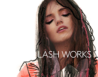 LASH WORKS - Brand development
