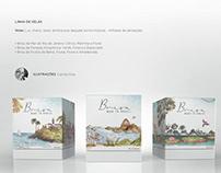 Embalagem Vela Brisa Made in Brasil
