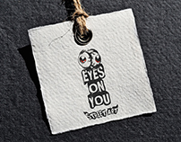 EYES ON YOU / STREET ART BOOK