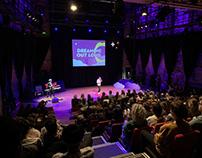 Huisstijl/podiumontwerp TEDx-event