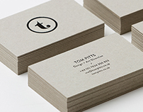 Tom Pitts Branding