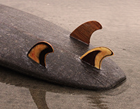 BLACK ARROW - Cork Surfboard