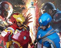 Marvel & DC Paperfigure