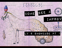 Improv Showcase Event Promotion Flyers