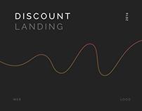 Discount — web, logo