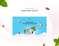 Landing page for Dairy Free Yogurt