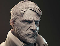 More Dishonored Sculpts and Prints
