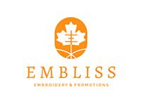 Embliss Embroidery Logo