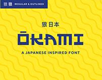 OKAMI | Free Font