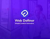 Web Definer Company Logo Design