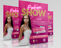 Fashion Party Flyer Template Vol.3