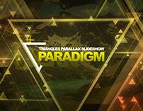 Paradigm Triangles Parallax Slideshow