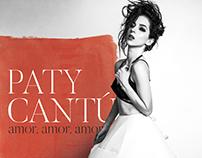 """Paty Cantú - """"Amor, amor, amor"""" Sencillo"""