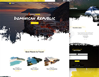 Tripbay - Travel Landing Page Concept